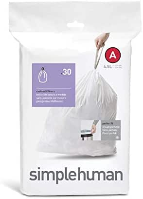 Trash Bags: Simplehuman code A