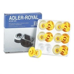 Adler Royal Royal Brand 900221 40/80 - 1-Lift Off Tape (Office Supply / Other)