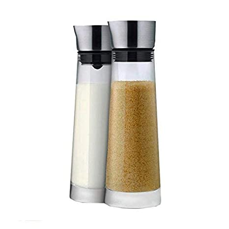 Edelstahl matt Blomus 63510 Zucker und Sahne Set Macchiato
