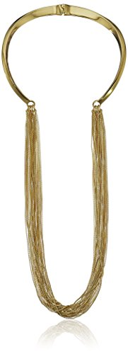 UPC 724445288440, Vince Camuto Chain Drape Hinged Collar Necklace