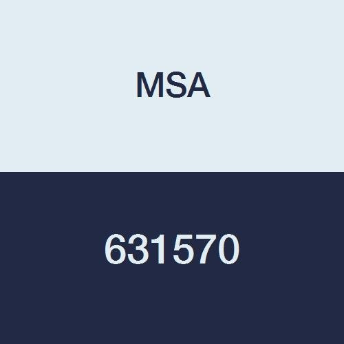 MSA 631570 Plug, Calibration, Polypro, Red