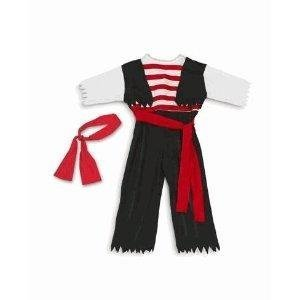 Black Pirate Costume Child's for dressup or Halloween! (2T-4T) - coolthings.us