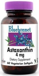 Bluebonnet (4 Pack) Astaxanthin 4 Mg Vsgs- 30 Ct