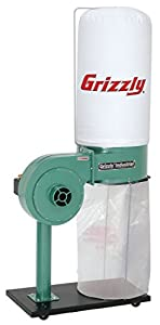 2. Grizzly G8027 1 HP Dust Collector