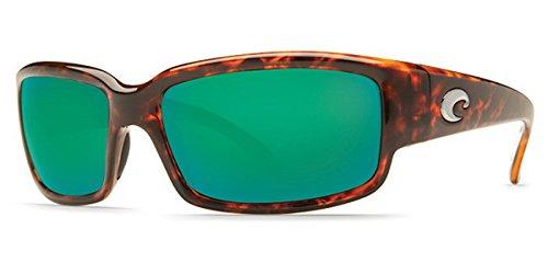 - Costa Del Mar Caballito Sunglasses Tortoise/Green Mirror 580Plastic