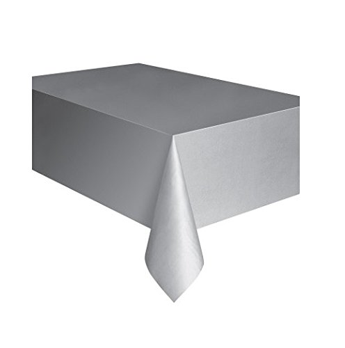 Christmas Eve Express (Silver Plastic Tablecloth, 108