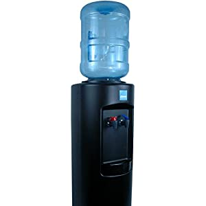 Clover B7A Hot and Cold Bottled Water Cooler in Black