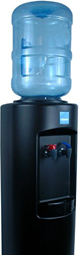 - Clover B7A Hot and Cold Bottled Water Cooler in Black