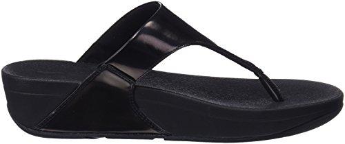 Sandals Punta thong Donna Sandali Mirror 484 Toe mirror Fitflop Aperta Nero Lulu black wEgUqt