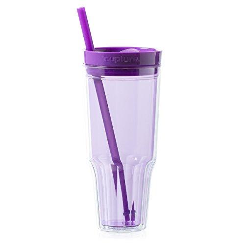 Cupture Travel 32 oz Tumbler (Purple)