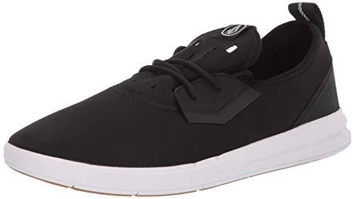 Volcom Men's Draft Water Shoe Skate, Black White, 10.5 D US