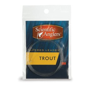 Scientific Anglers 3-Pack Trout Leaders (9 Feet , 5X), Outdoor Stuffs