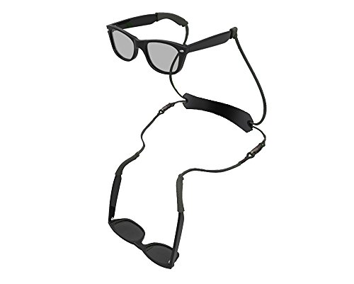 Hang2 Dual Eyeglass Neck Strap (Black, Slip-on Sleeve)