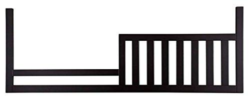 Westwood Design Pine Ridge/Stone Harbor Toddler Rail Conversion Kit, Black ()