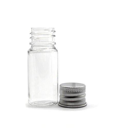 3PCS-30ML-Empty-Plastic-Plug-Screw-Cap-Bottle-With-Aluminum-Cover-for-Travel-And-HomeTransparent