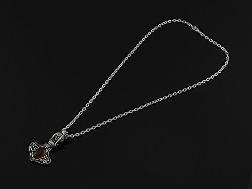 Amber Dragon Thor/'s Hammer Pendant