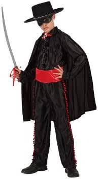 Atosa-98439 Disfraz Enmascarado, color negro, 3 a 4 años (98439 ...