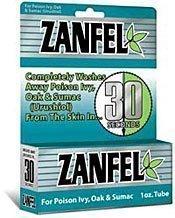 Zanfel Poison Ivy Cream - 1 oz / 2-pack
