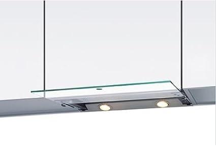 Wesco: empotrable Campana en acero inoxidable evm 211 – 55 (550 mm) Cristal estándar rectangular: Amazon.es: Grandes electrodomésticos