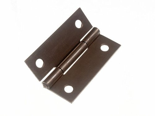 BUTT HINGE  STEEL SELF COLOUR 50MM 2 INCH + SCREWS
