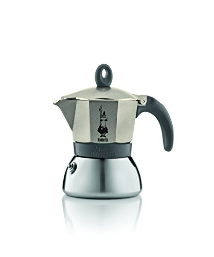 Bialetti 4832 Moka Induction Espresso Maker, Gold