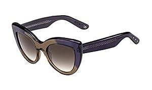 Sunglasses Bottega Veneta 263/S 04DZ Transparent Brown