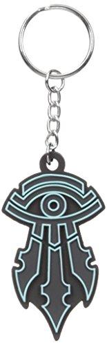 Warcraft-Mens-Movie-Kirin-Tor-Logo-Rubber-Keychain
