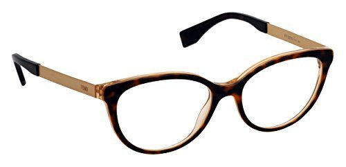 Honeys Havana Honey (Fendi Women's Eyewear Frames 0079 53mm Havana Pearl Honey DVO)
