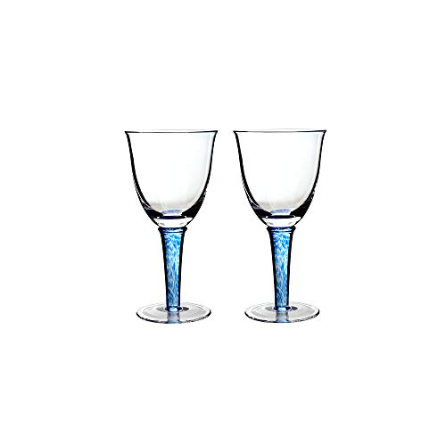 (Denby Imperial Blue White Wine Glass (Pack Of)