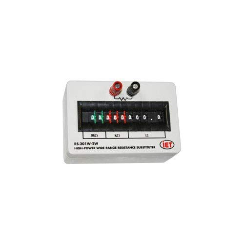 Iet Labs Resistance Decade Box, 0-99999999.9 Ohm - RS-201W