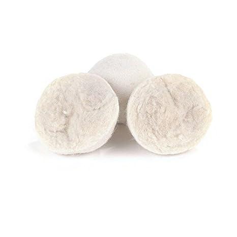 SusuTOP Bolas suavizantes de Lana para Secadora Orgánico Lana Natural Bolas de Lana para La Secadora Reutilizables Suavizante de Telas Anti- ...