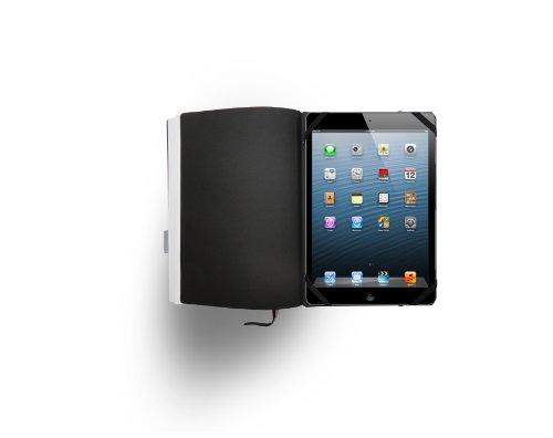Whitebook Standard S001-ML, leather cut, black, 240 pp. Paper FSC (fits iPad Mini, refillable modular content booklets)