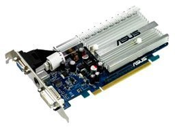 ASUS EN8400GS SILENT/HTP/256M GeForce 8400 GS 256MB 64-bit GDDR2 PCI Express x16 HDCP Ready Video Card