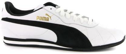 Puma Mens Esito 2L White Black Leather