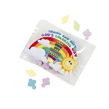 Palm & Cross Candy Fun Packs - Easter & Easter Candy & Choco