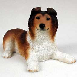 Conversation Concepts Collie Sable Puppy Figurine (Set of 6) ()