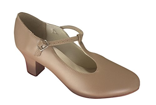Así Que Danca Ch50 Character Shoe (adult 9, Tan)