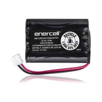 Amazon.com: Enercell 3.6V/800mAh Ni-MH Cordless Phone