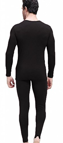 Men's Thermal Underwear Set Top & Bottom Fleece Lined