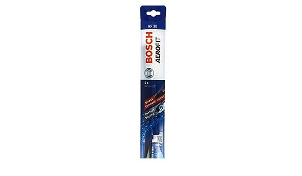 Bosch 3397016022 cepillo Limpiaparabrisas Aerofit mm 380 Af38: Amazon.es: Coche y moto