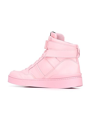 MOSCHINO FEMME MA15033G12MCL600 ROSE CUIR BASKETS MONTANTES