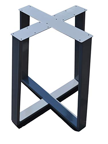 Metal Table base, Tapered Pedestal Style - Any Size and Color