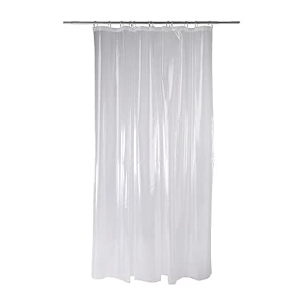 Amazon.com: Ikea Nackten shower curtain, transparent clear: Home ...