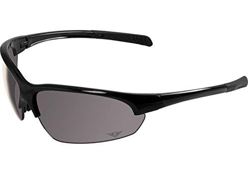 Max Group Rough Rider Black #7 HD Polarized Smoke Lenses ...
