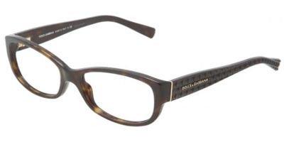 DOLCE&GABBANA D&G DG Eyeglasses DG 3125 HAVANA 502 DG3125 - Eyeglasses & D G