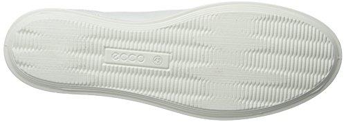 ECCO Damen Aimee Sport Slip-On Fashion Sneaker Weiß / Mazarine Blau