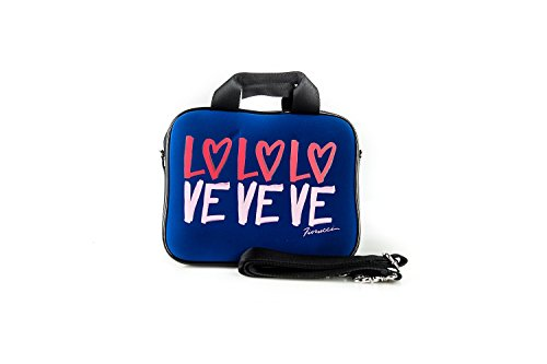 borsa-porta-mini-pc-ipad-fiorucci-love-blue-profili-neri-with-shoulder-strap-h41