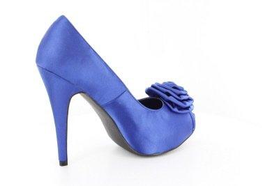 con blu Blu donna Andres Machado Scarpe plateau F4A8qqzEw