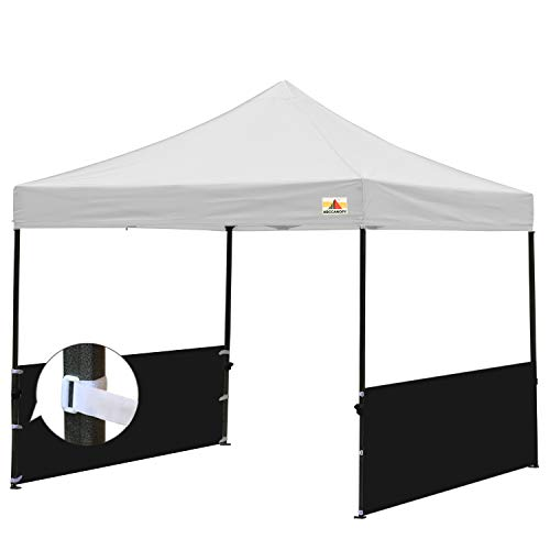 ABCCANOPY Two Half Walls for 10'x10′, 10'x15′, 10'x20′ Pop Up Paty Tent Canopy(2 Half Walls Only. Tent Purchased Separately) (Black) Review