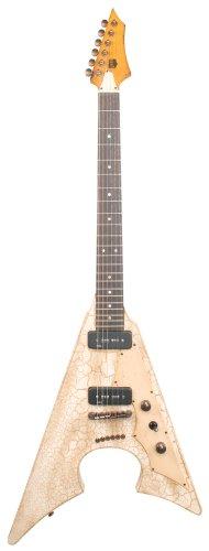 Axl Badwater Jacknife, diseño de guitarra eléctrica, color marrón ...